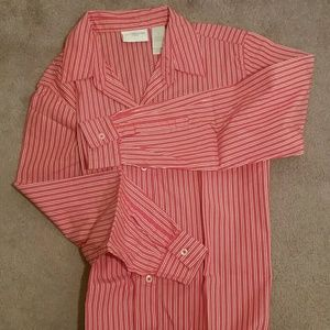 Liz Claiborne 100% Cotton Button Down Shirt M